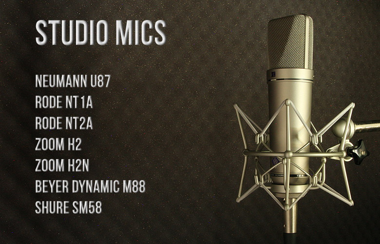 ScoopFX Studio mics
